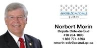 Député M. Norbert Morin