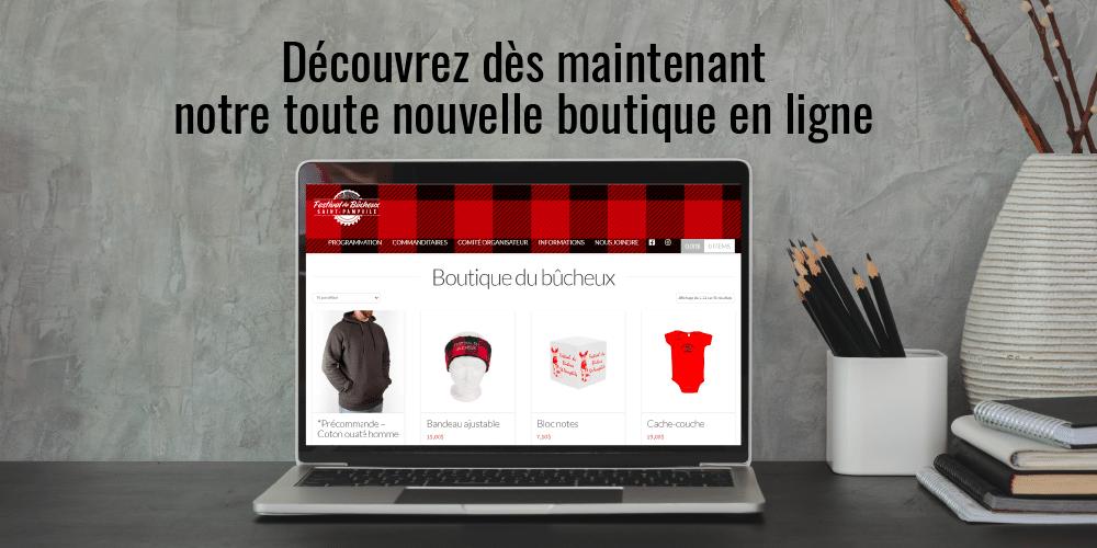 Découvrez notre toute nouvelle boutique en ligne